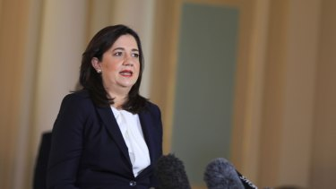 Queensland Premier Annastacia Palaszczuk has announced a dedicated unit to deal with border exemptions.