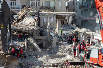Turkey sits on top of two major fault lines and earthquakes are frequent in the country.