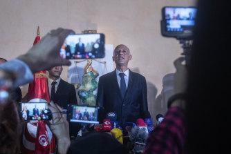 Tunisian law professor Kais Saied looks set to assume Tunisia's presidency.