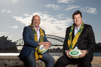 McLennan has known interim rugby CEO Rob Clarke since their days in advertising. They were fierce rivals.