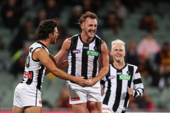 Collingwood's matches against Carlton and Gold Coast are likely to decide their finals fate.