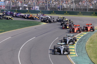The Australian Grand Prix has a new target date of November 21.