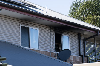 Police said the unit was significantly damaged by the fire.