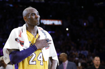 Kobe Bryant was killed in a helicopter crash in January this year.
