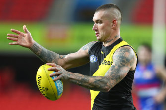 'Brownlow shape': Dustin Martin.