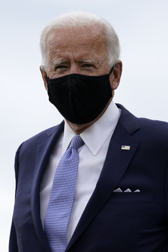 Democratic presidential candidate former Vice President Joe Biden travelled to the key states of Pennsylvania and Wisconsin this week.