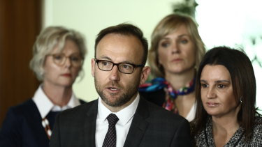 Greens MP Adam Bandt brought on a motion to declare a climate emergency on Tuesday.