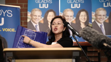 "Gladys Liu dubbed media reports quoting her on LGBTI issues as ""fake news""."