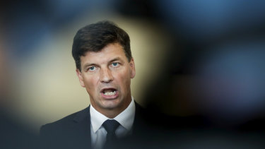Energy Minister Angus Taylor says the government's electric vehicle strategy is not comparable to Labor's, despite both policies potentially leading to the same uptake of the technology.