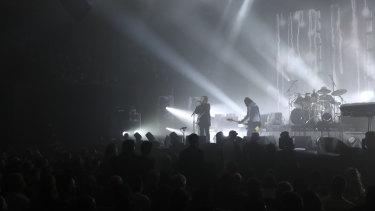 The Cure perform at the Opera House on Friday.