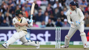 Steve Smith averted a potentially game-changing collapse with an enterprising 82.