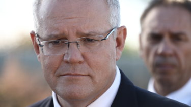 "Scott Morrison has accused Bill Shorten of taking a ""cheap shot""."