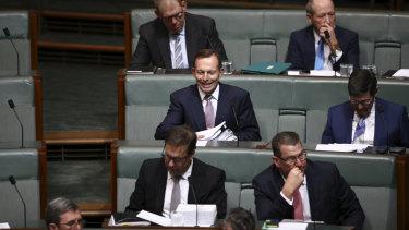 Abbott in QT today.