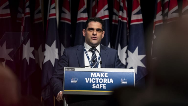Victorian Liberal Party director Nick Demiris says the party is using world-leading technology.