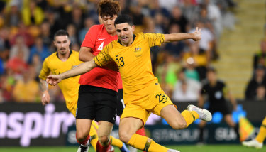 Former skipper Paul Wade says Tom Rogic's ability to create chances will be key for the Socceroos.