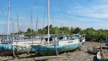 Oelaba fishing village on Rote Island.