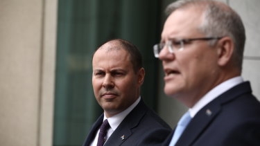 Prime Minister Scott Morrison and Treasurer Josh Frydenberg cannot show any sign of panic.