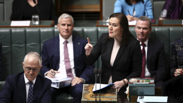 Kelly O'Dwyer speaks during Question Time.