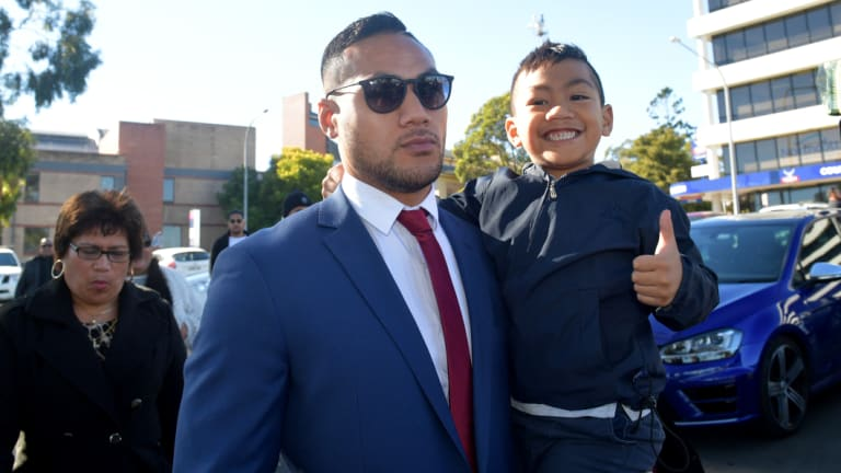 Punishment: Tim Simona convicted of a fraud charge and handed a good behaviour bond in 2017.