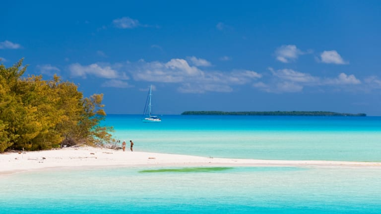 The Loyalty Islands in New Caledonia.