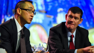 James Packer and Lawrence Ho have a long association.