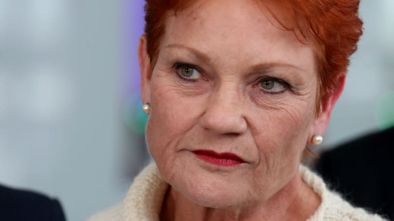 "Pauline Hanson said she'd ""kick"" the nine-year-old girl ""up the backside"" for her actions."