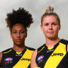 AFLW stars embrace 'underdog' status of Richmond expansion side