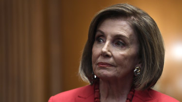 House Speaker Nancy Pelosi has compared Donald Trump - unfavourably to Richard Nixon.