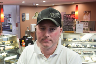 The Oven Door bakery owner Steve Chrystal says the proposed flyover will transform the shopping complex into a ghost town.