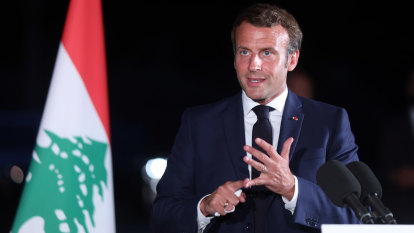 Macron draws up reform roadmap for crisis-ridden Lebanon