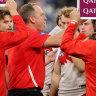Longmire bemoans no-runners rule as young Swans crumble