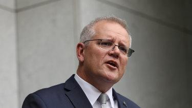 Prime Minister Scott Morrison says Australia is considering near term emissions reduction targets.