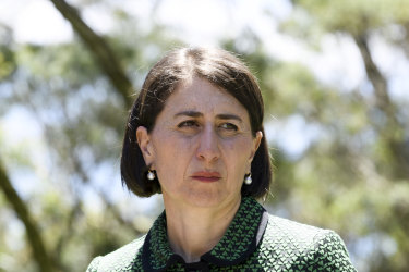 """Premier Gladys Berejiklian has maintained the Office of Local of Government was responsible for """"making sure the dollars got to those councils."""""""