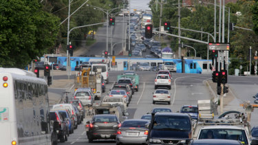The state government will remove the level crossing at Toorak Road in Kooyong, but has poured cold water on Josh Frydenberg's plans to take away the crossing at Glenferrie Road.