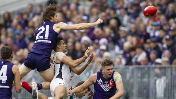 Dockers serve up a finals blow to Power