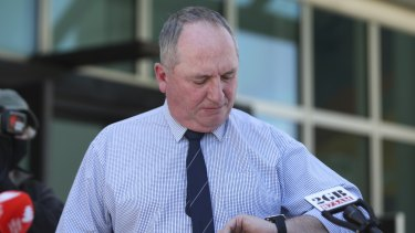 Deputy Prime Minister Barnaby Joyce on Sunday: There is no chance his party would support Australia lifting its current 2030 target.