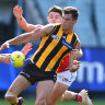 O'Meara, young Blue injured as players return to contact training