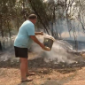 No hope of rain as residents use 'milk, orange juice' to fight fires