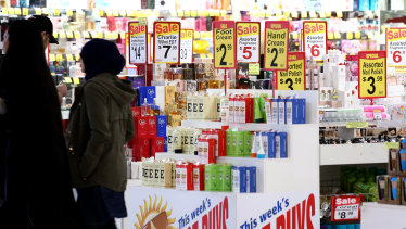 The retail sector has called for a rescue package.