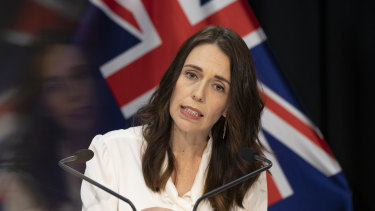 "Jacinda Ardern says New Zealand has ""stopped a wave of devastation""."