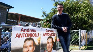 Ipswich mayor Andrew Antoniolli says he won't be standing down.