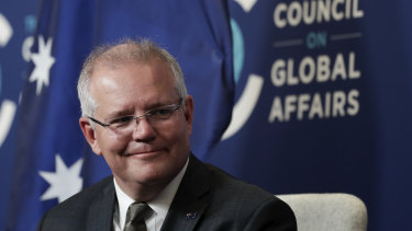 PM Scott Morrison says China's economic growth is welcomed by Australia.