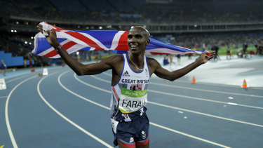 Mo Farah used to be coached by Alberto Salazar.