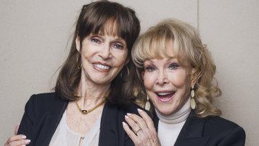 Barbara Feldon, 86, and Barbara Eden, 87, will appear at Supanova this weekend.