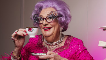 Distancing herself from Barry Humphries: Dame Edna plans to discuss #MeToo.