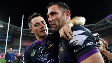 Cooper Cronk is convinced his mate Cameron smith will retire.
