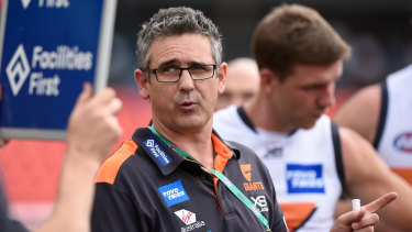 GWS Giants coach Leon Cameron is still unconvinced about the new man-on-the-mark rule.