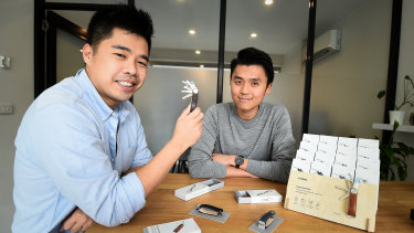 Rex Kuo and Charles Ng, Co-founders of Orbitkey.