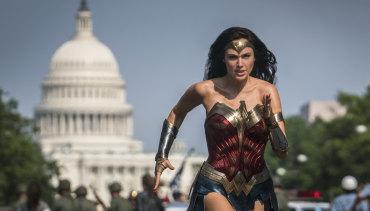 High hopes: Gal Gadot in Wonder Woman 1984.
