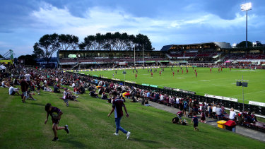 Brookvale Oval is one of the facilities in line for a redevelopment.
